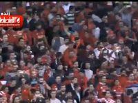 شادی بازیکنان و هواداران پرسپولیس پس از صعود به فینال +فیلم