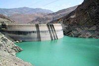 ذخیره آب سد کرج و طالقان ۶درصد کاهش یافت