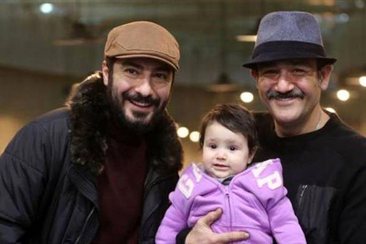 عاشقانه مهران غفوریان با همسرش + عکس