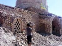 تخریب مقبره پادشاه صفاری در خوزستان +عکس