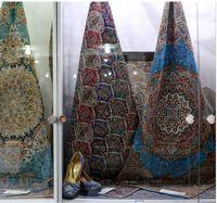ترمه، رنگین کمان هنر اصیل یزد + عکس
