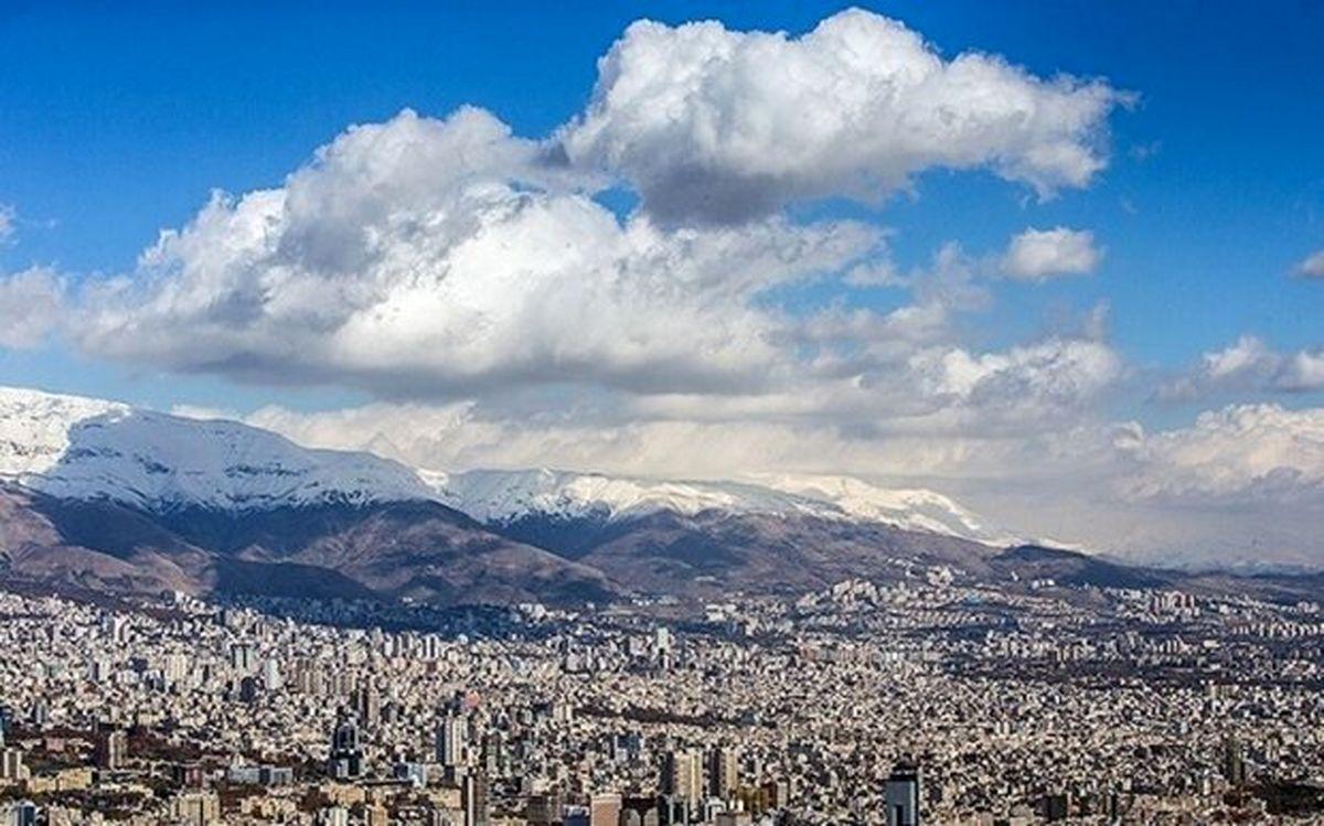 پایداری هوای سالم در تهران