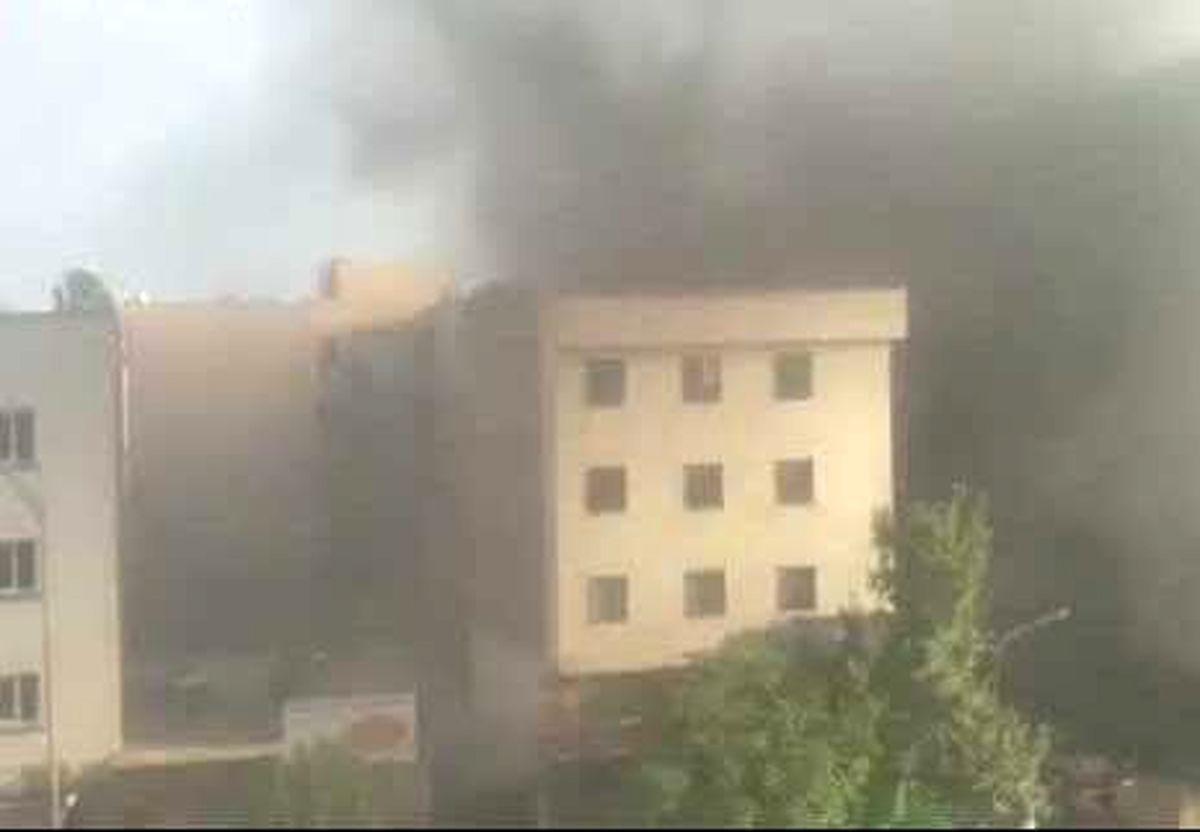 زنده زنده سوختن زن و مرد تبریزی در میان شعله آتش