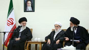 دیدار رییس و اعضای مجلس خبرگان رهبری با مقام معظم رهبری +عکس