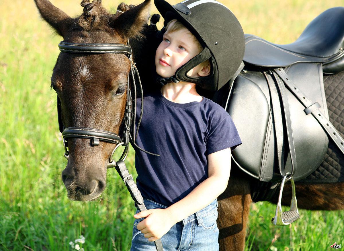 از کنترل اوتیسم تا بهبود فلج مغزی با کمک اسبها