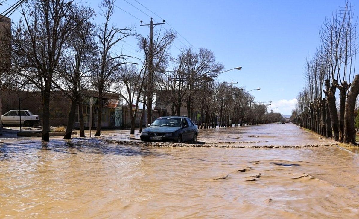 هشت استان درگیر سیل و طوفان است