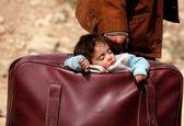 آوارگان جنگ سوریه همچنان در حرکت +تصاویر