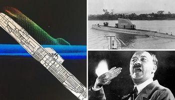 زیردریایی مرموز هیتلر +تصاویر