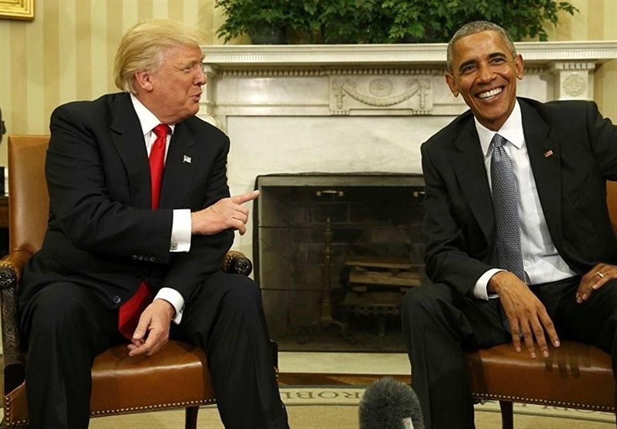 انتقاد دوباره اوباما از ترامپ