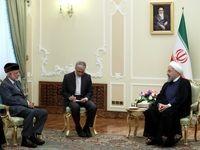 ایران مصمم به توسعه همهجانبه روابط و مناسبات و همکاریها با عمان است/ تاکید بر ضرورت توسعه روابط بانکی و تسهیلات برای رفت و آمد تجار دو کشور