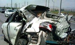 تصادف ۸ خودرو در محور فیروزکوه
