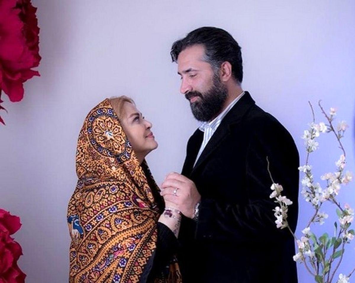 عاشقانه بهاره رهنما و همسرش +عکس