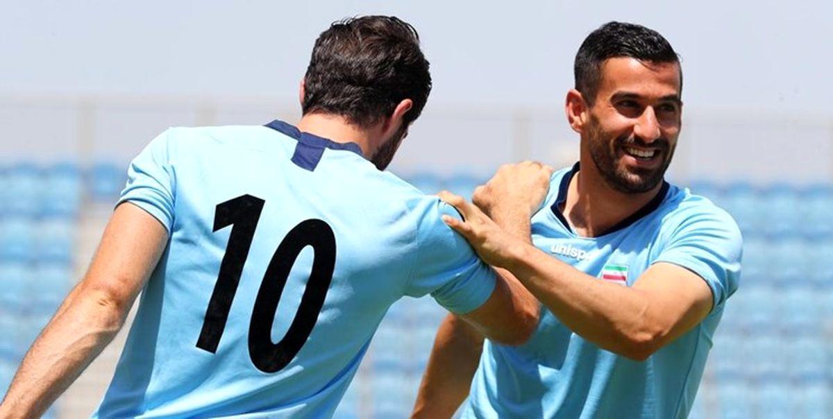 با آماده شدن حاج صفی / دو لژیونر ایرانی در کنار هم بازی می کنند