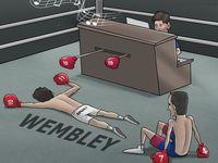 مسی باز هم به کمک بارسا آمد (کاریکاتور)