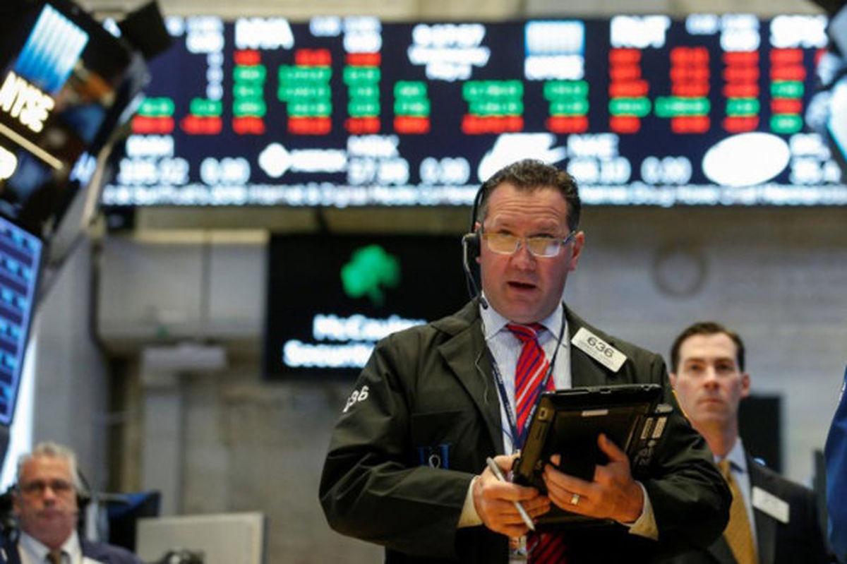 سقوط شاخص سهام در بورس آمریکا
