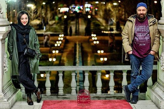 آناهیتا درگاهی کنار علی اوجی در موزه سینما +عکس