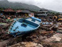 سونامی اندونزی 40هزار نفر را بیخانمان کرد