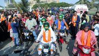 استقبال گسترده از کمپین موتورسواری زنان در پاکستان