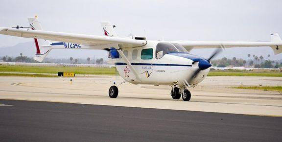 پرواز موفقیت آمیز اولین هواپیمای هیبریدی