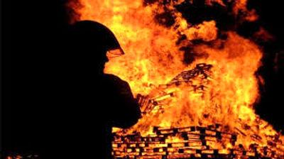 آتشسوزی گسترده در منطقه نظامی ترکیه