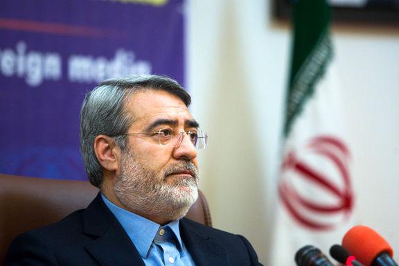 مخالفت وزیر کشور با استعفای استاندار کرمان