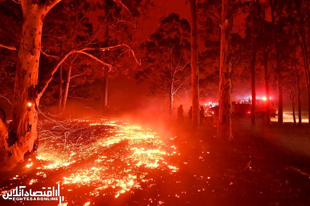 ادامه آتـش سوزی در استرالیا