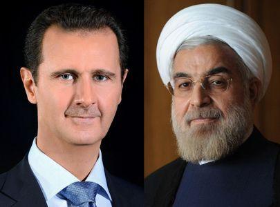 تماس تلفنی روحانی با بشار اسد