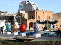 جشنواره تزئین تخممرغهای رنگی +تصاویر