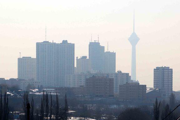 تهران در سیطره ذرات معلق