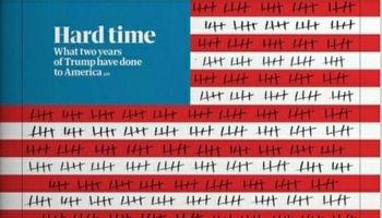 روزشمار دوران ریاستجمهوری ترامپ روی جلد گاردین +عکس