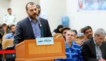 تصاویری از عمار صالحی؛ متهم جدید بانک سرمایه در دادگاه