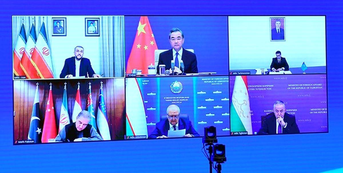 بیانیه مشترک نشست کشورهای همسایه افغانستان