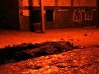 مسکن مهر پلدختر در محاصره سیلاب