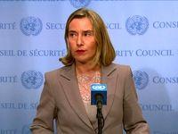 موگرینی: آمریکا پذیرفت که ایران پایبند به برجام است