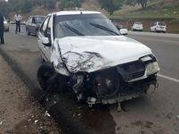 تصادف در جاده یاسوج به اصفهان ۱۲مصدوم برجا گذاشت