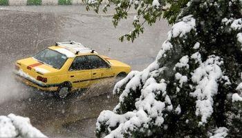 تداوم برف و باران در بیشتر نقاط کشور