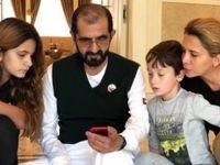 جزییات تازه از اختلاف خانوادگی امیر دبی +عکس