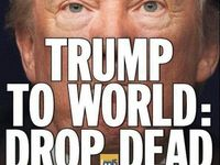 ترامپ به جهان: بمیرید +عکس