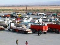 تردد ۲۲۰ هزار کامیون بین ایران و عراق