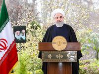 پیام نوروزی روحانی به مناسبت حلول سال99 +فیلم