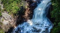 آبشاری که غیب می شود + عکس