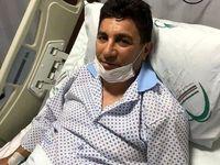 قلعهنویی در بیمارستان بستری شد +عکس