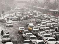 ترافیک نیمه سنگین در مسیرهای منتهی به تهران