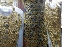 لباس طلایی ۳ میلیاردی! +عکس