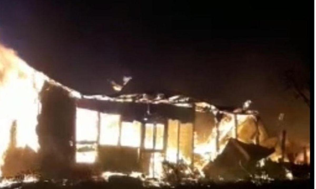 آتشسوزی و انفجار چند تانکر سوخت در میانکاله
