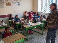 مشق انسانیت یک معلم +عکس