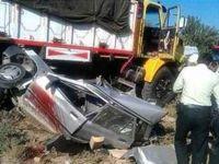 حادثه رانندگی در خراسان رضوی هشت کشته داشت