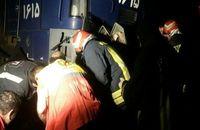 برخورد قطار با موتورسیکلت در شاهرود 2کشته بر جا گذاشت