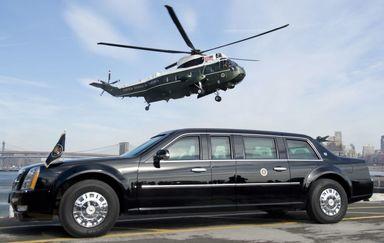 خودرو و بالگرد رئیس جمهور آمریکا