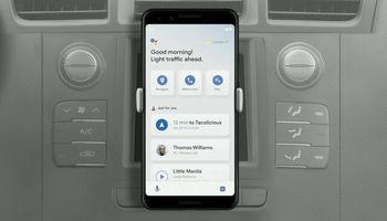 گوگل اسیستنت به رانندگی شما کمک میکند!